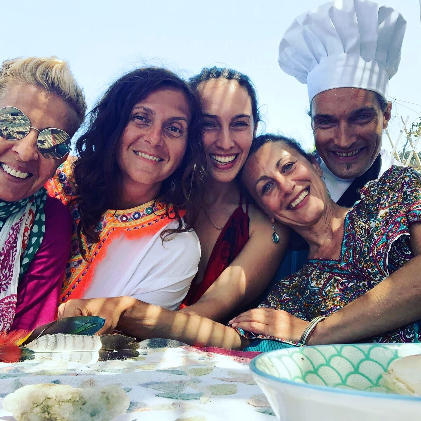 Esco Essence our inhouse chef The Happiness Retreat Emerge As One Kythera island Greece