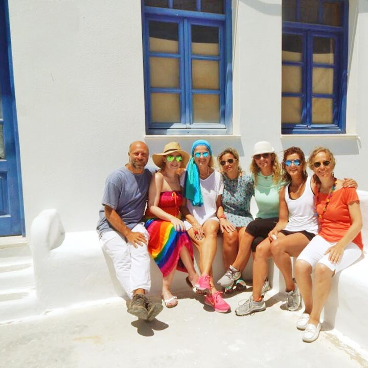 The Happiness Retreat - Blue Bliss - Greek Islands
