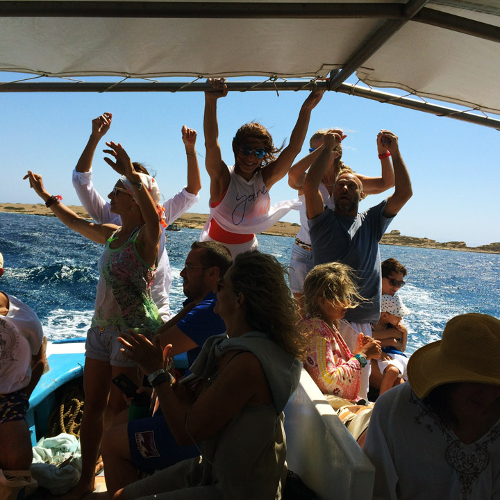 The Happiness Retreat | Blue Bliss - Boat ride in Koufonissi