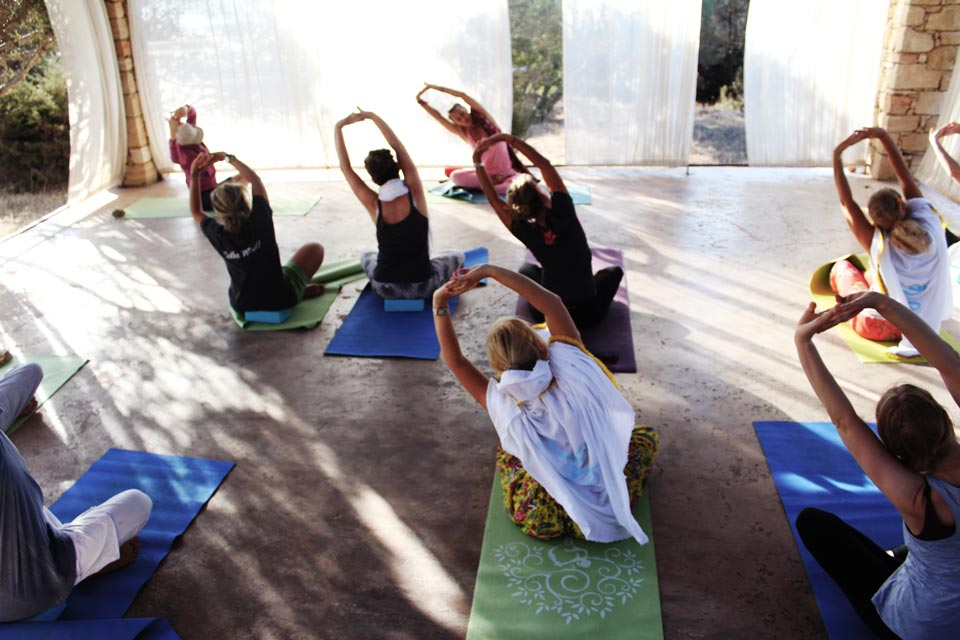 The Happiness Retreat - Yoga Practice in Koufonisi