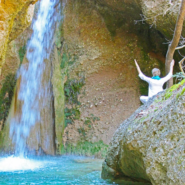 The Happiness Retreat - Apostolia Papadamaki Waterfall