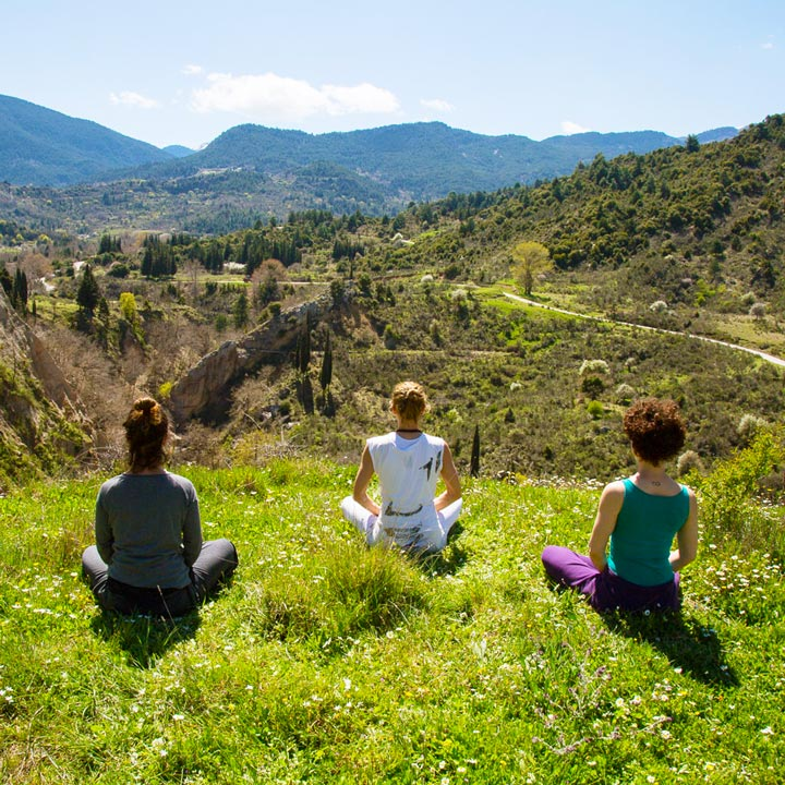 The Happiness Retreat - Spring Celebration Ritual - Yoga Practice