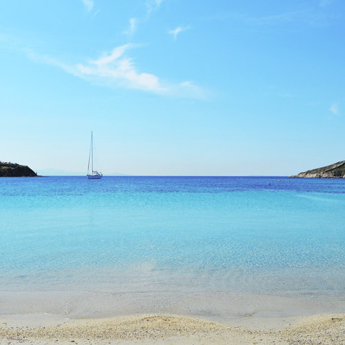 The Happiness Retreat - Blue Aegean Sea - Cyclades