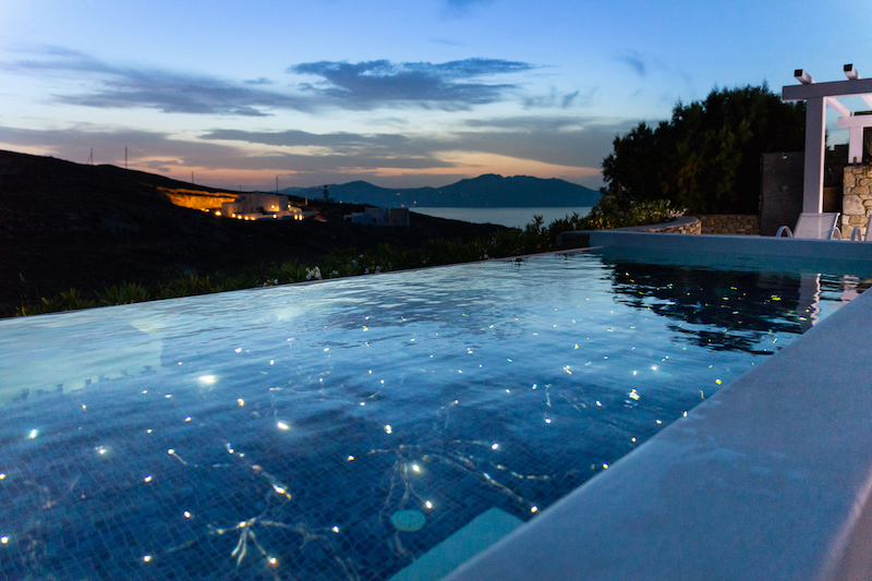 The Happiness Retreat Mykonos starry view private pool wellness yoga retreat aegean cyclades greece