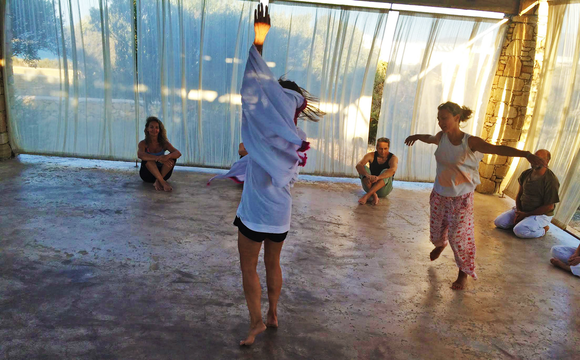Spirit Contact Dance practice with Apostolia Papadamaki