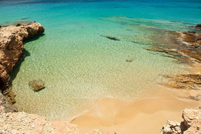 The secret beaches of Koufonisi