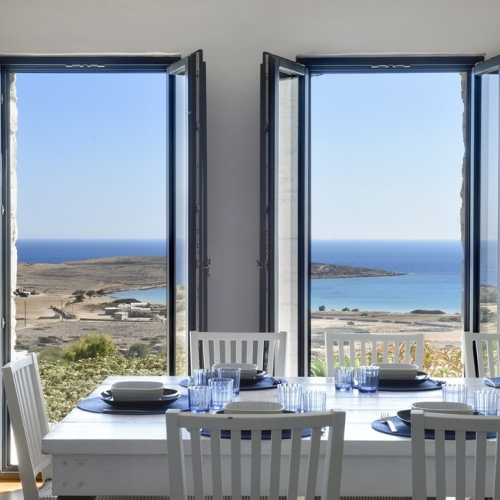 Koufonisi Villas - Dinning table